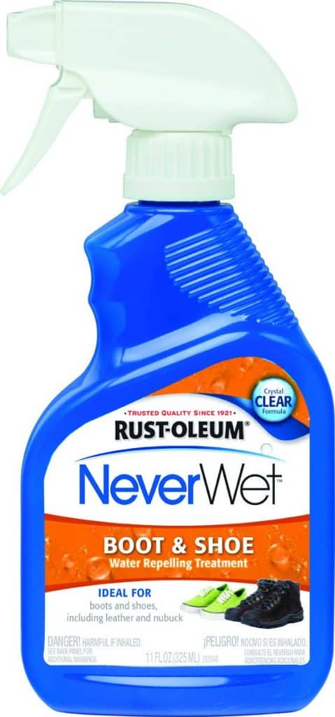 Rust-Oleum 280886 NeverWet Waterproof Shoe Srpay