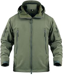 Susclude Men's Outdoor Military Tactical Jacket